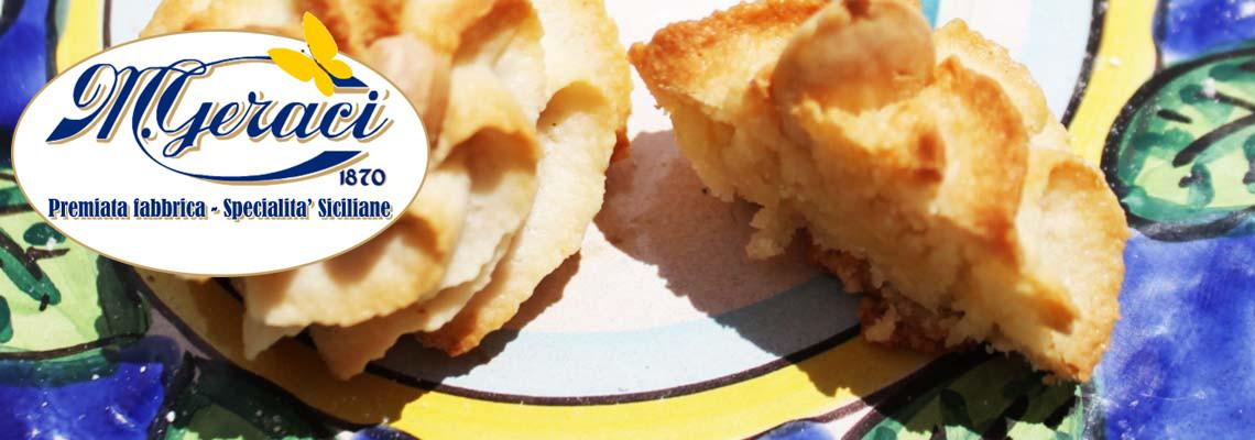 Dolci da forno, Paste di Mandorle e di Pistacchi - Torronificio M. Geraci