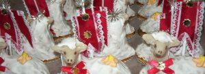 Agnello pasquale dolce tipico siciliano, Torroni Geraci