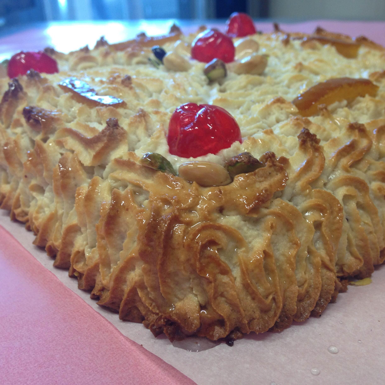 Torta di pasta di mandorle, Torroni Geraci