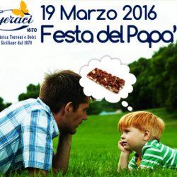 Torronificio Geraci, sconto 10% festa del papa'