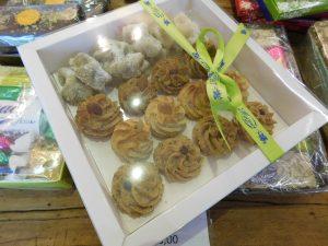 Confezione di dolci da forno, paste di mandorla, pistacchio e nocciola - Torronificio M. Geraci