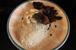 Ricetta, plov, riso slla frutta secca, il blog di marcella, torronificio M. Geraci, Caltanissetta