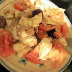 insalata, estate, cena, ricetta, il blog di marcella, torronificio m. geraci, caltanissetta